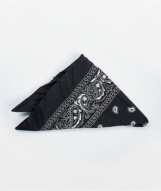 Stone + Locket Classic Black Bandana