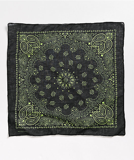 Stone + Locket X-Ray Green Bandana