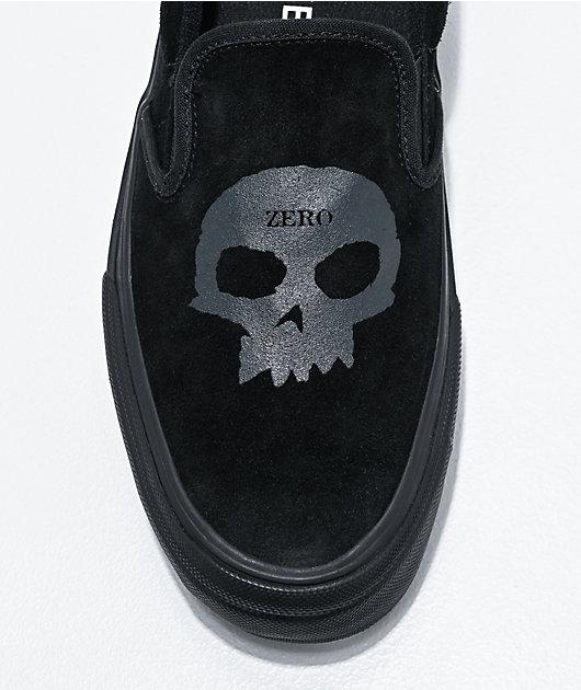 Straye x Zero Ventura Slip- On zapatos de skate negros