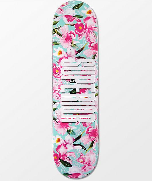 "Superior Floral 8.0""  tabla de skate"