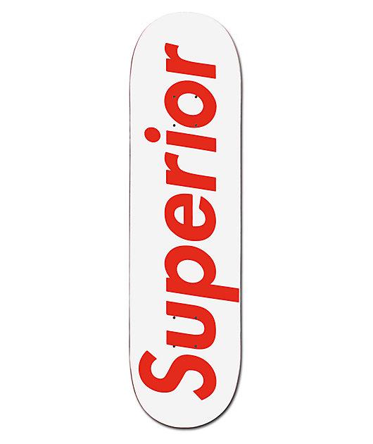 Superior Red & White 8.375
