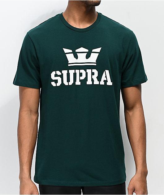 Supra Above Regular Green T-Shirt