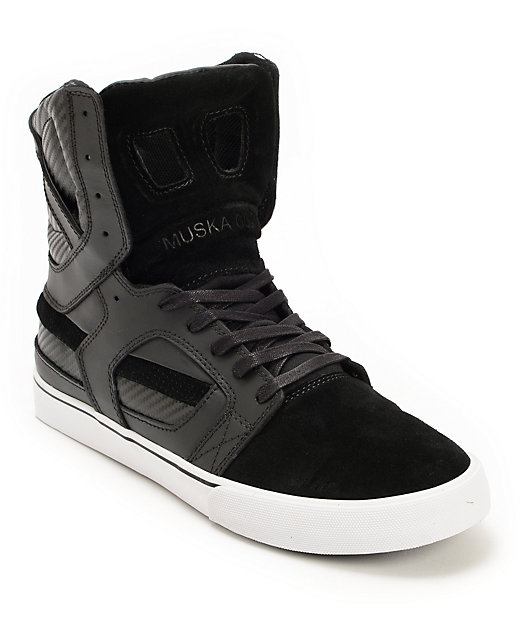 Supra Skytop 2 Black \u0026 White Leather