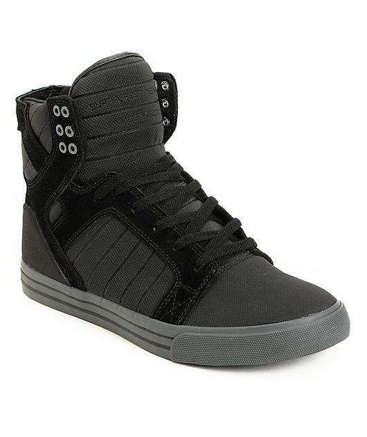 Supra Skytop Black TUF \u0026 Grey Skate