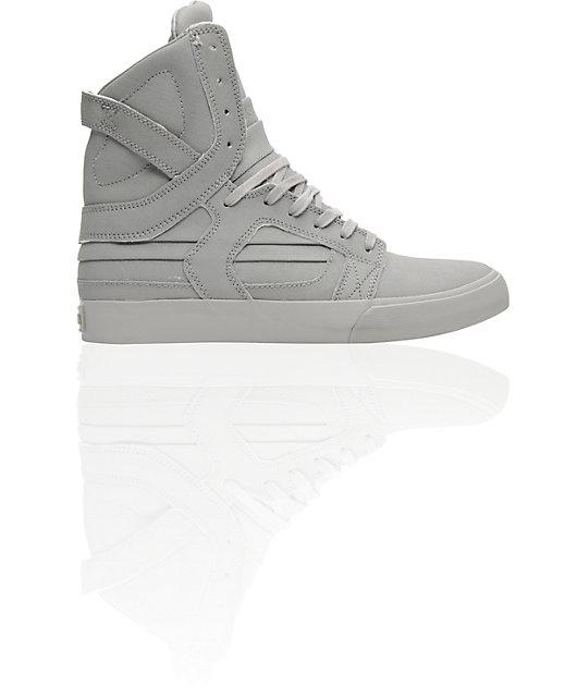 Supra Skytop II Grey Gunny Tuf Shoes