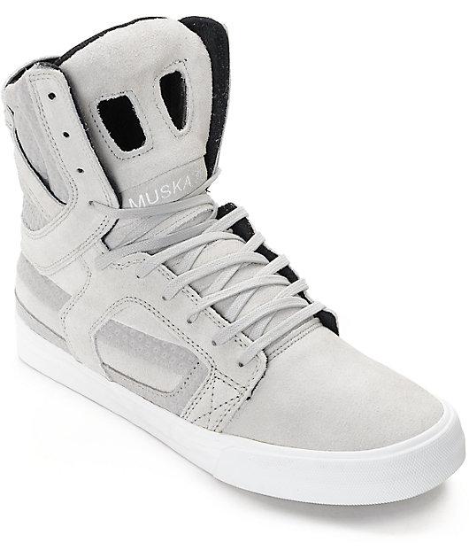 Supra Skytop II Light Grey \u0026 White