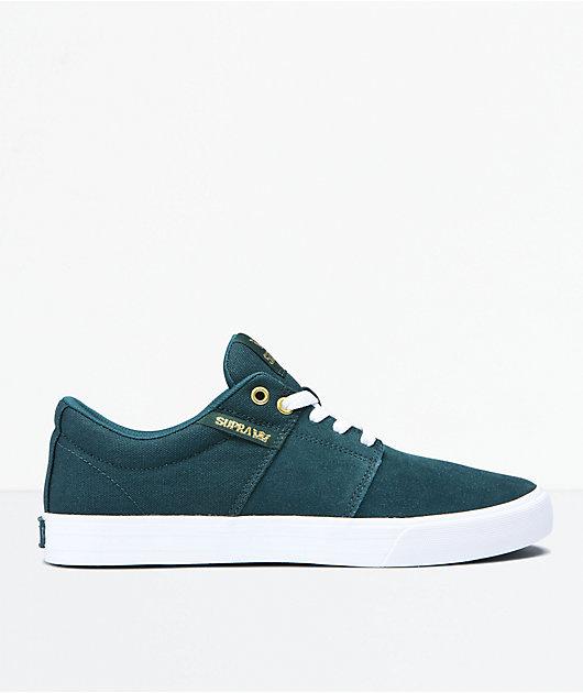 Supra Unisexs Stacks Ii Vulc Skateboarding Shoes