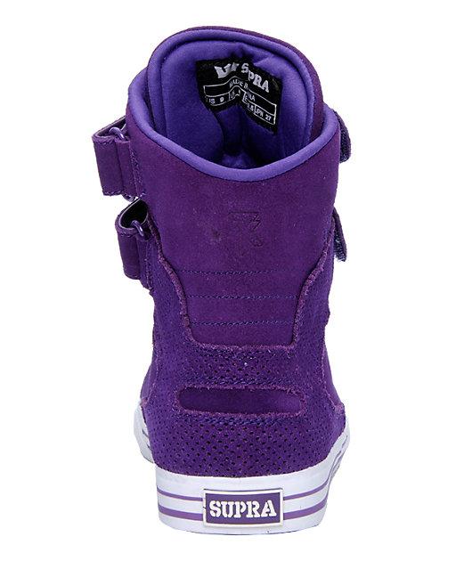 Supra TK Society Purple Suede Shoes