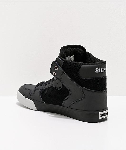 Supra Vaider zapatos de skate en negro y gris claro