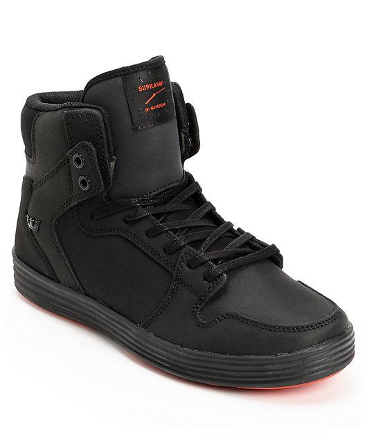 Supra x G-Shock Vaider Lite Black Skate
