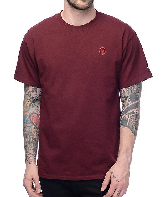 Sweatshirt By Earl Sweatshirt Premium 2 Burgundy T-Shirt