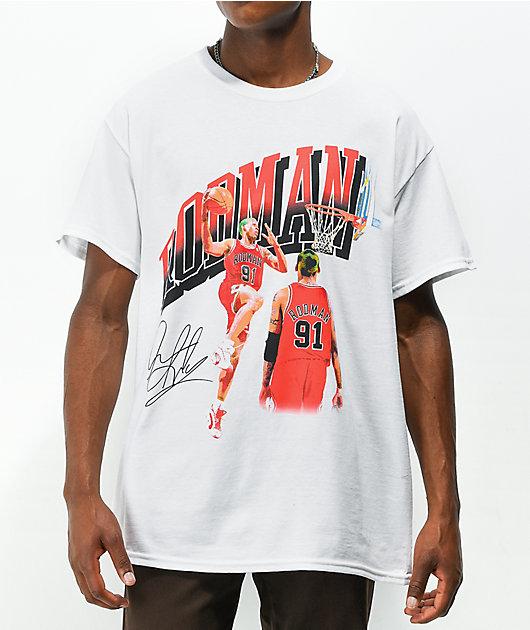 THE RODMAN BRAND Dunk White T-Shirt