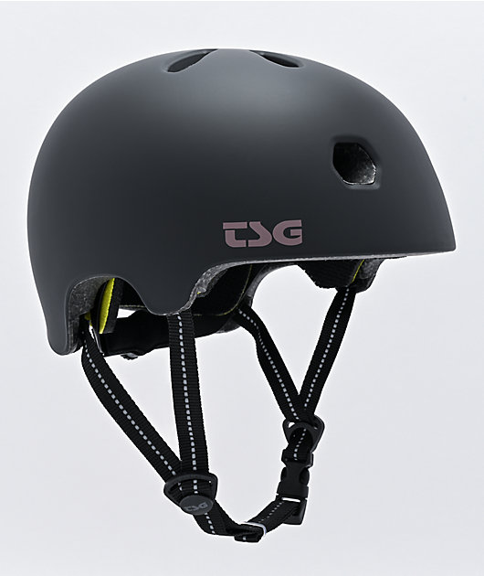 TSG Certified Meta Matte Black Multi-Sport Helmet
