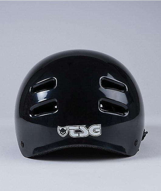 TSG Skate-BMX Injected Black Multi-Sport Helmet