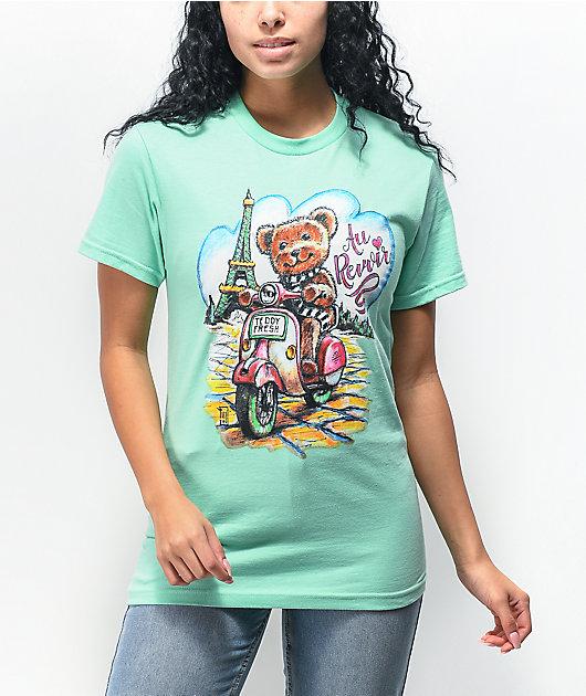 Teddy Fresh Au Revoir Mint T-Shirt