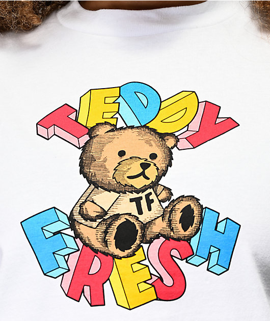 Teddy Fresh Blocks camiseta blanca