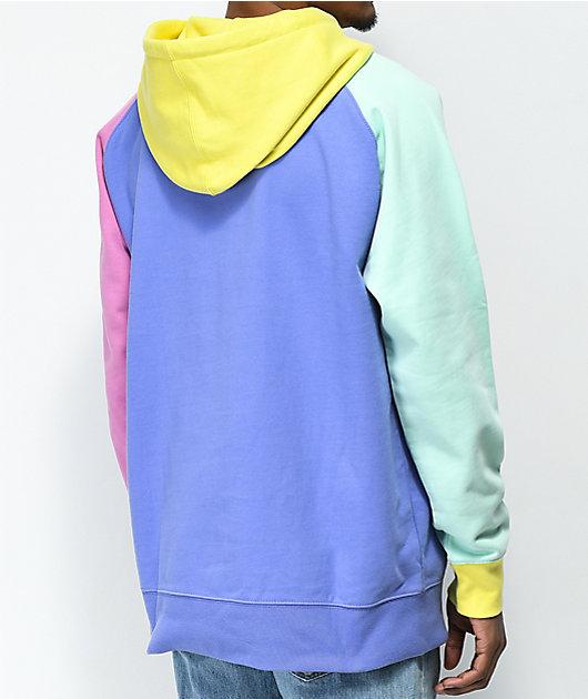 Teddy Fresh Colorblock Hoodie