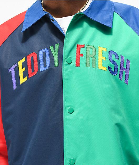 Teddy Fresh Colorblock Primary chaqueta entrenador
