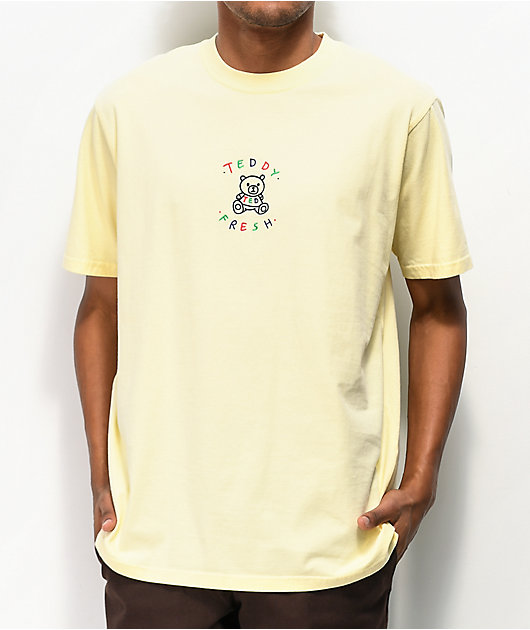 Teddy Fresh Embroidery Buttercup Yellow T-Shirt