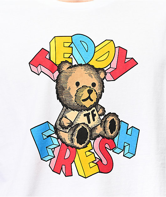 Teddy Fresh Teddy Blocks White T-Shirt