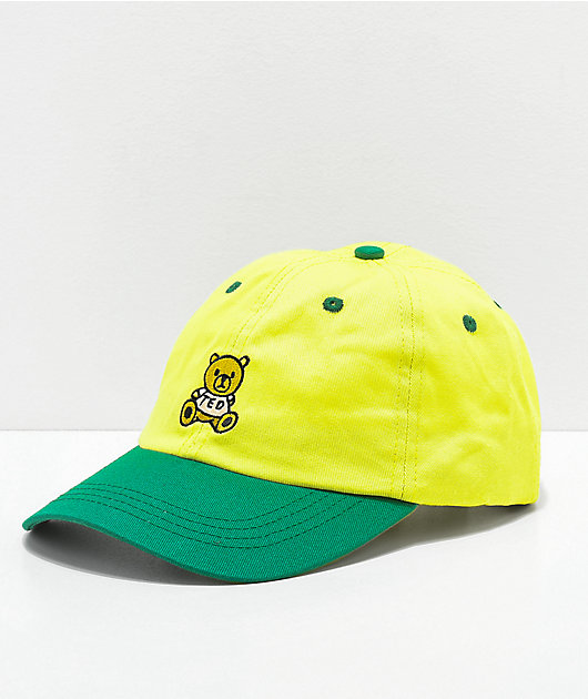 Teddy Fresh Yellow & Green Strapback Hat