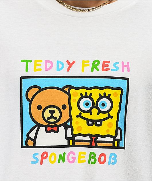 Teddy Fresh x SpongeBob SquarePants Friends White T-Shirt