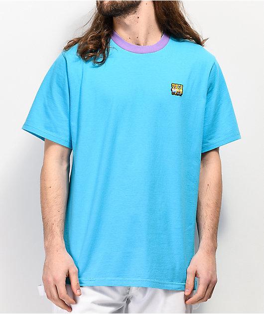 Teddy Fresh x SpongeBob SquarePants Patch Blue T-Shirt