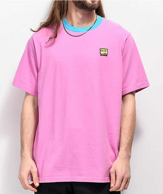 Teddy Fresh x SpongeBob SquarePants Patch Orchid Pink T-Shirt