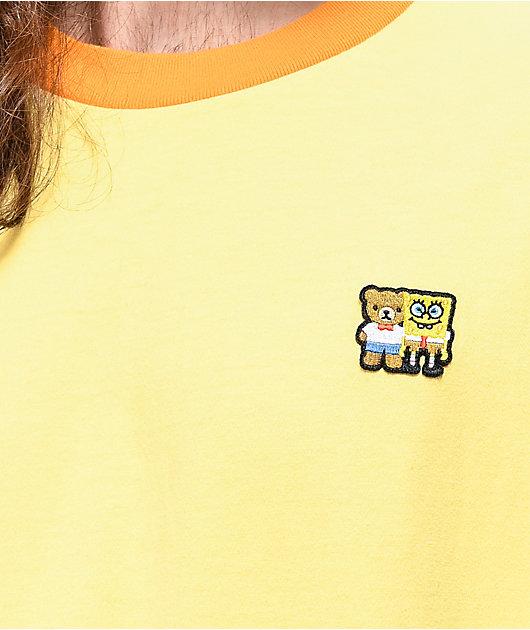 Teddy Fresh x SpongeBob SquarePants Patch Yellow T-Shirt