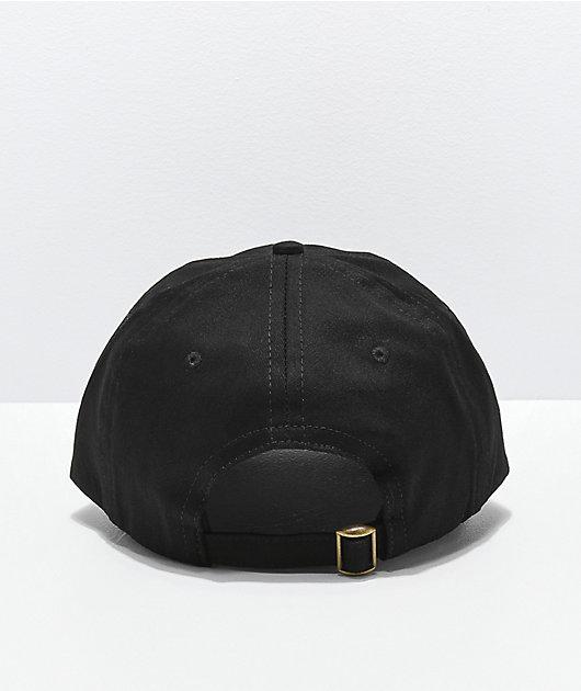 Teenage Black Strapback Hat