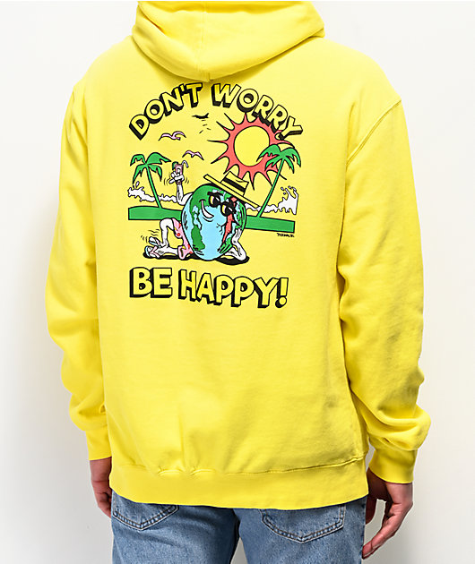Teenage Don't Worry Yellow Hoodie
