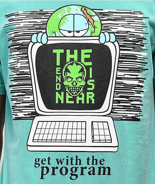Teenage Get With The Program camiseta verde
