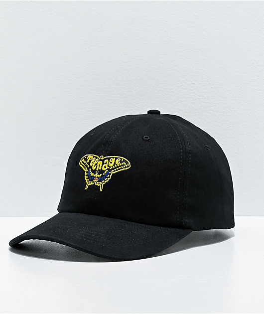 Teenage Metamorphosis Black Strapback Hat