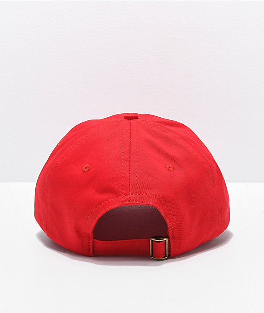 Teenage Red Strapback Hat