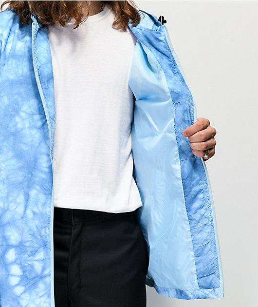 Teenage Sun chaqueta cortavientos azul y amarilla