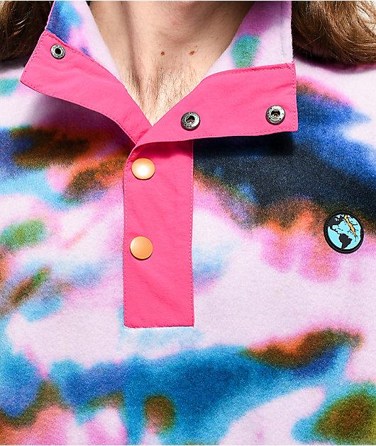 Teenage Tie Dye Tech Fleece Jacket