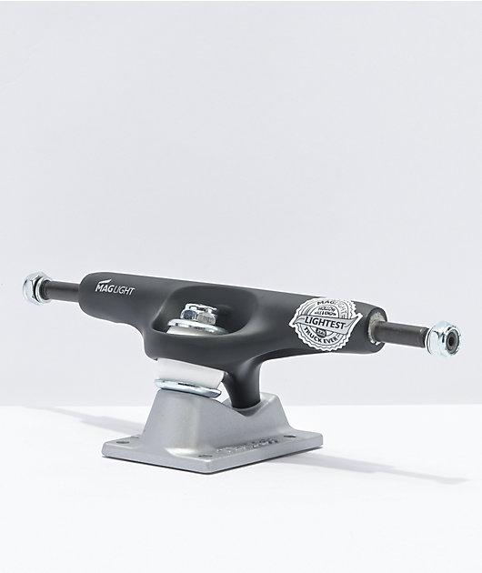 Tensor Mag Light 5.5 Reflective Black & Silver Skateboard Truck