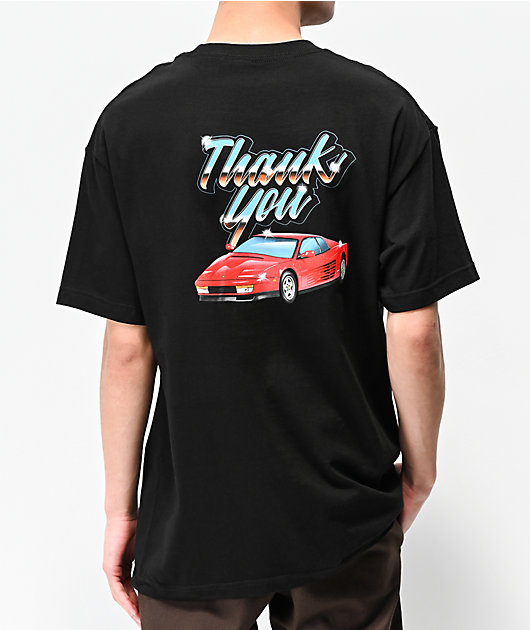 Thank You Cruizin Black T-Shirt