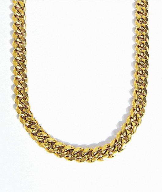 The Gold Gods 10mm Miami Cuban Chain