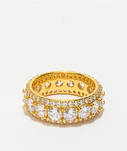 The Gold Gods King Ring