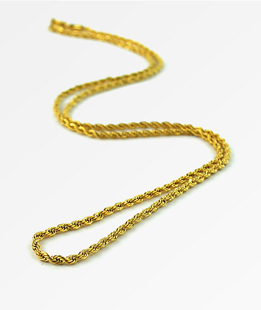 The Gold Gods Rope Chain 28