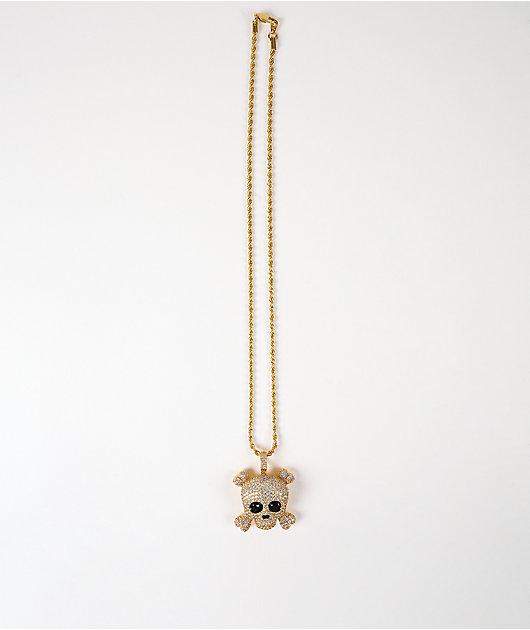 The Gold Gods Skull 22