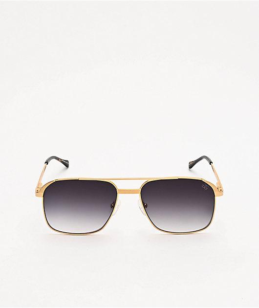 The Gold Gods The Hades Gold & Black Sunglasses