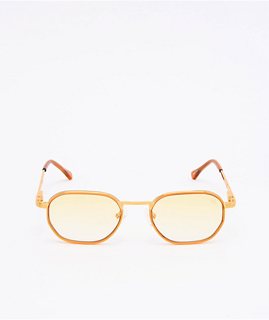 The Gold Gods The Hermes Yellow Gradient Sunglasses