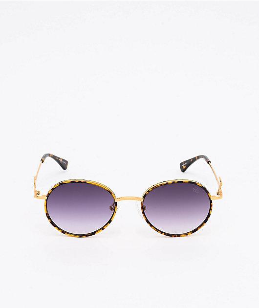 The Gold Gods The Iris Dark Tort & Black Sunglasses