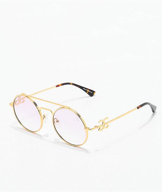 The Gold Gods Visionaries gafas en rosa y oro
