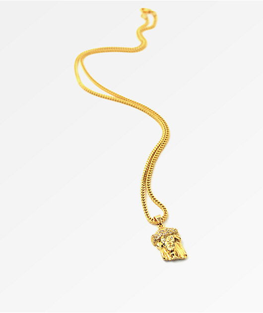 The Gold Gods collar oro Jesus
