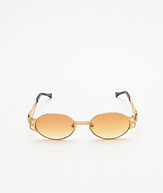 The Gold Gods x Fabolous Orange Sunglasses