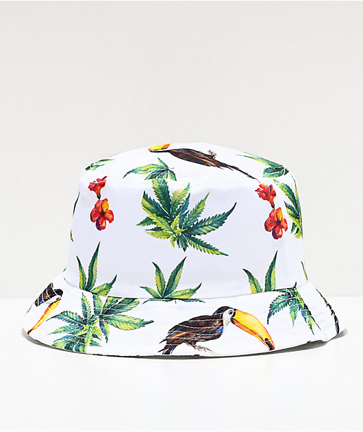 The High & Mighty Acapulco White Bucket Hat