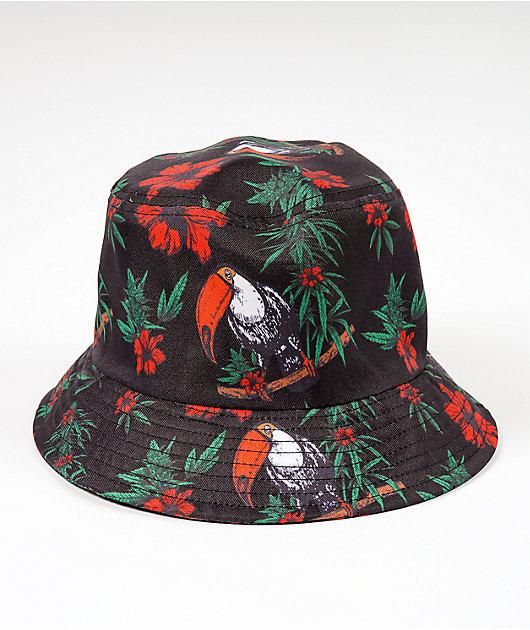 The High & Mighty Panama Black Bucket Hat